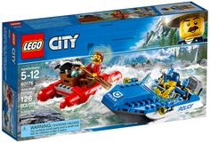 LEGO City 60176 : L'arrestation en hors-bord