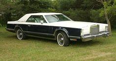 1979 Bill Blass Edition Lincoln Continental Mark V