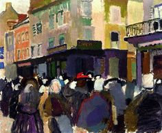 Raoul Dufy, 'The Market at Falaise', 1905