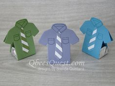 T-shirt Nugget Favors | Video Tutorial, Custom Tee Stamp Set, T-shirt Builder Framelits, Hershey's Nuggets, Father's Day, Simply Scored, Stampin' Up, Qbee's Quest, Brenda Quintana