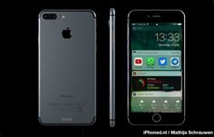 Since Apple has announced the iOS 10 at WWDC there are tons of iPhone 7 and iOS 10 rumors flying over the internet. We have found iPhone 7 concept handset which is surprisingly running on iOS