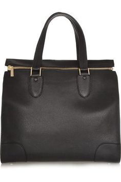 Milano textured-leather tote #accessories #women #covetme #valextra