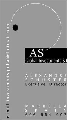 Imagen Corporativa de Alexander Schuster
