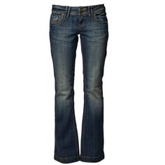 QS by s.Oliver SLIM LOW BELL Bootcut jeans ($76) ❤ liked on Polyvore