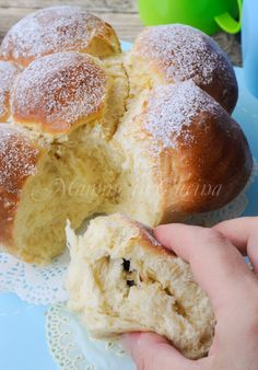 Sweet nutella with nutella easy recipe - Krapfen Cookie Desserts, Dessert Recipes, Nutella Bar, Angel Food Cake, Love Eat, Sweet Cakes, Yummy Cakes, Italian Recipes, Sweet Recipes