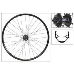 Wheel Masdter WTB FX28 29er Disc Front Wheel, Shimano M525 Hub, QR, Black