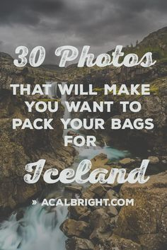 30 Photos That Will Make You Want Pack Your Bags For Iceland | acalbright.com | Travel | Iceland | Travel Iceland | Iceland Photography | Iceland Top Sights | What To See In Iceland