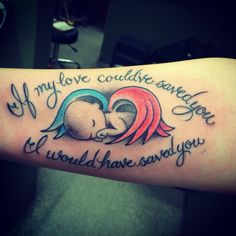 #infantloss #miscarriage #tattoo #girly #mine #beccamarie