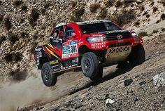 Abbruchsieg für Sainz, wieder Probleme für Loeb - Dakar - Motorsport-Magazin.com