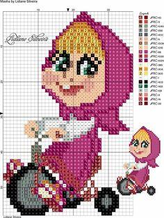 Cross Stitch Letters, Cross Stitch Charts, Cross Stitch Designs, Cross Stitch Embroidery, Disney Cross Stitch Kits, Disney Stitch, Masha Et Mishka, Thomas Kinkade Disney, Cross Stitch Silhouette