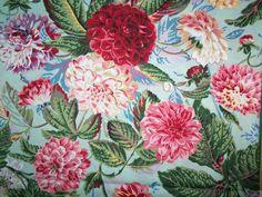 Philip Jacobs Pom Pom Dahlias #PJ38 Quilt Fabric by Rowan/Westminter Fibers