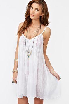 the little white summer dress <3