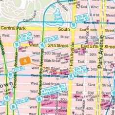 New York City Pocket Map | New York City Pocket : Freytag & Berndt : 9783707913293 - The Chart ...