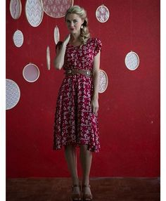 Ella Dress - Red (Pre-order)