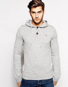 Abercrombie & Fitch Hooded Jumper with Logo