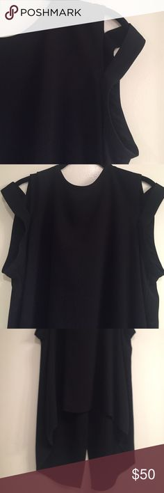BCBG Maxazria Strappy Shoulder Open Back Top New New! Like new. Smoke free, pet free home! BCBGMaxAzria Tops Blouses