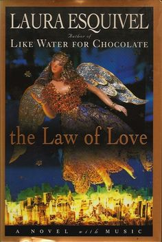 The Law of Love, by Laura Esquivel, 1995. Originally in Spanish. A multimedia scifi/mystic love story, including graphic novel segments and a music CD.