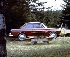 1969 Volkswagen Type 3 (Taken at Porters Lake Provincial Campground, Nova Scotia., 1969)