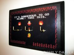 """It's Dangerous To Go Alone!"" Keyrack | Community Post: 19 Must-Have Items For Zelda Fanatics"