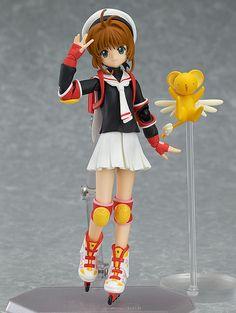 Cardcaptor Sakura figurine Figma Sakura Kinomoto School Uniform Ver. Max Factory