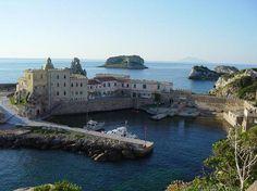 Italy - Pianosa Island - the Port