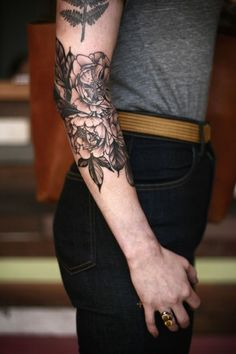 Exquisite Floral Tattoos : Floral Tattoos
