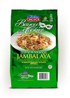 Shrimp And Sausage Jambalaya, Shrimp Bisque, Shrimp Creole, Chicken Sausage, Skillet Meals, Pennsylvania, Frozen, Packaging, Vegetables