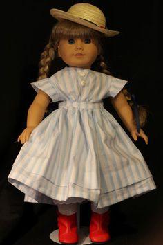 American Girl Kirsten's Summer Outfit by PrairieWindGirls on Etsy, $30.00