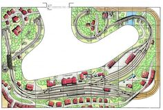 Afbeeldingsresultaat voor h0 gleisplanung