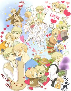 USUK---I've loved you for a thousand years and I'll love you for a thousand moooooooooore!