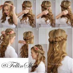 Vintage Hair Tutorial :)