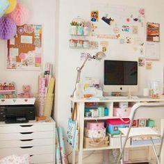 Un bureau girly