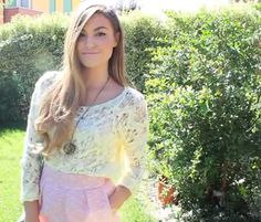 CutiePieMarzia. She has a lot of beauty tips and fashion ideas!! Check her out on YouTube!!!