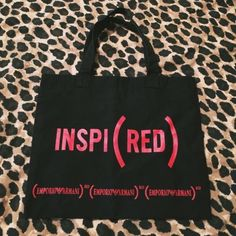 TheEA limited red limited tote bag. 100% cotton;14in*18in Emporio Armani Bags Totes