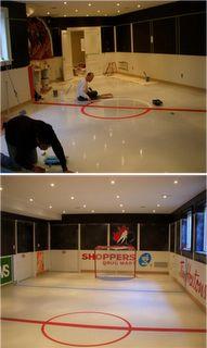 hockey room (maybe air hockey too) ; ohhhh my gooood.