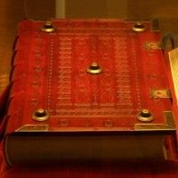 The Pelplin Diocesan Museum (Muzeum Diecezjalne Pelpin), Pelplin, Poland contains Poland's only copy of the Gutenberg Bible (Museum Website in Polish)