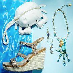 Let's hit the beach, babes! Get all your ocean treasures over at Betsey Central!