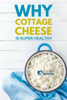Cottage cheese is low in calories but very high in protein and healthy nutrients. This article explains why cottage cheese is so good for you: https://authoritynutrition.com/cottage-cheese-is-super-healthy/