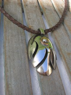 Spoon tribal Pendant Upcycled jewelry by mamaJoia on Etsy, $25.00