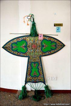 Wau der traditionelle malaysische Drache -- Wau the malaysian kite