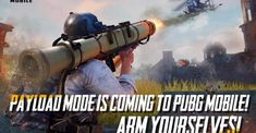 The PUBG MOBILE Payload mode is coming to stable servers on October The Payload mode brings helicopters and anti-air weapons in the classic PUBG-style gameplay. Minecraft Games, Minecraft Mods, Call Of Duty, Ghillie Suit, Latest Smartphones, Subway Surfers, Youtuber, Building Games