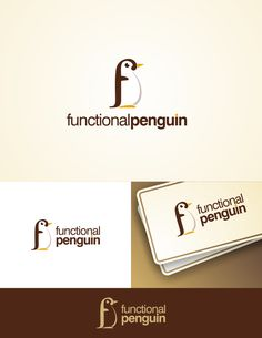Functional Penguin logo by Ricky Asamanis
