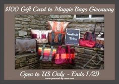 Enter $100 GC Maggie Bags Seatbelt Bag Giveaway! WONDERFUL GIVEAWAY! Enter here http://www.powered-by-mom.com/100-gc-maggie-bags-seatbelt-bag-giveaway/ For Your Chance To Win! YOU KNOW THAT I MOST DEFINITELY ENTERED THIS GIVEAWAY!!! I WANT IT!!!! Thanks, Michele :)