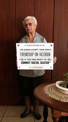 Sfaturi despre social media pe care ar fi trebuit sa mi le fi dat bunica mea http://webcultura.ro/sfaturile-bunicii-cu-privire-la-social-media/ si http://webcultura.ro/sfaturile-bunicii-cu-privire-la-social-media-ii/