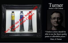 "May Bank Holiday 10% discount on Turner Artist Oil Colours Take advantage this May Bank Holiday with 10% discount Why use Turner Artist Colours Here at Turner Artist colours we strive for perfection in creating and maintaining colour pigments for artist, we only use the finest quality refined linseed oil and quality pigments. How long … Continue reading ""May Bank Holiday 10% on Turner Artist Oil Colours"""