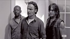 Three men you don't mess with on #TheWalkingDead .
