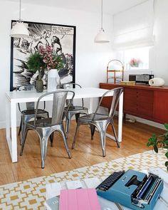 ⇀ #Historia de una #Tolix ↼ Así nació nuestra #silla metal más icónica #deco #decoración #interiorismo #sillaTolix