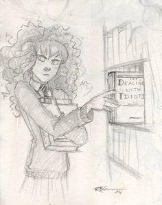 Hermione Granger by CaptBexx haha :)