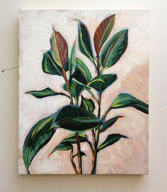 Sari Not Sorry Art from Sari Shryack — Bunny Ear Cacti Plant Painting, Plant Art, Painting & Drawing, Diy Painting, Art Sur Toile, Illustration Art, Illustrations, Acrylic Art, Botanical Art