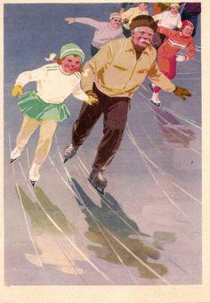 by A. Krasitskaya, 1962